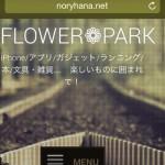 [n❁h]ノリハナ=モブログ。ブログ開設から半年間、僕のモブログ環境を支えてくれた3つのツール。
