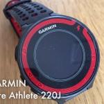 [n❁h]〈GARMIN〉Fore Athlete 220Jのバッテリーを少しでも長く持たせる方法。