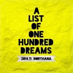 [n❁h]お前はこの人生で何を望む?人生の100のリストをつくってみて感じたことと望みを叶えるためにやるべきこと。 #七ブ侍 #木曜日 *18