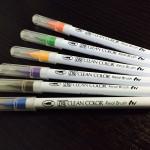 [n❁h]書き味、価格共に良し!マインドマップのブランチ描きは〈呉竹〉リアルブラッシュに決まり!